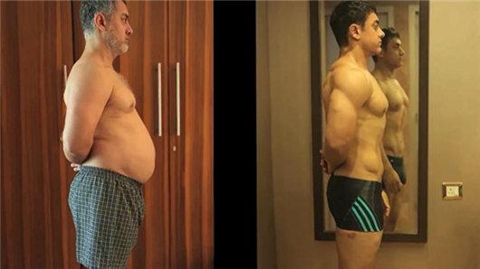 【摔跤吧!爸爸】阿米尔·汗拍身材大蜕变的纪录片