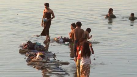 中国游客去缅甸旅游,这一街头现象看完都脸红,当地人不会害羞?