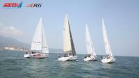 中国帆船公开赛·一声笛响帆船如利箭般冲出启航线