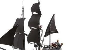 【动漫异次元】乐高积木 LEGO 加勒比海盗 4184 黑珍珠号