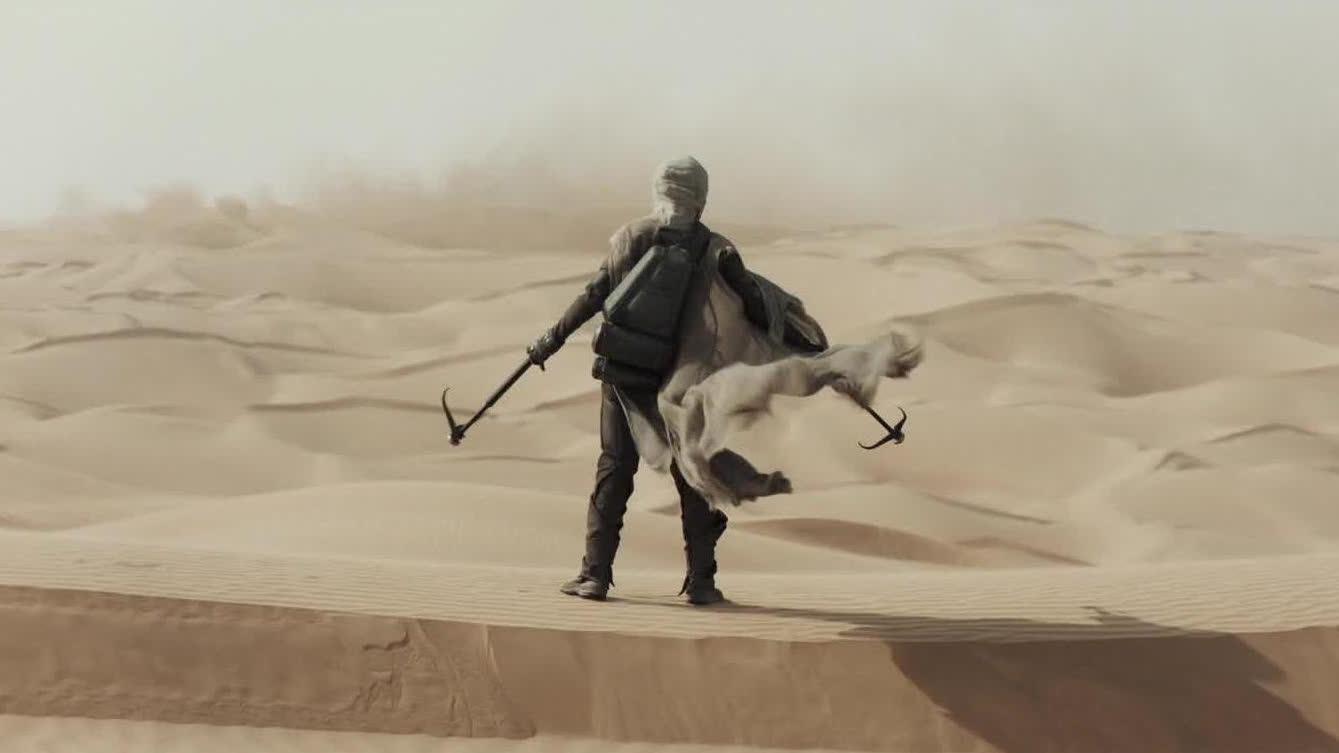【沙丘】10月22日全国献映 独家预告全新镜头刷新想象边界