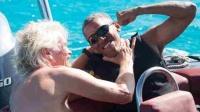 奥巴马退休后很开心