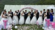 同班15对情侣集体结婚