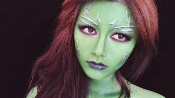 银河护卫队Gamora仿妆,简直完美还原