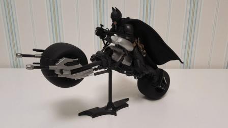 万代shf蝙蝠侠黑暗骑士蝙蝠摩托