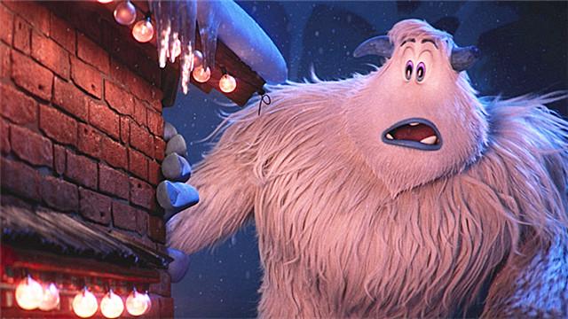 【雪怪大冒险】呆萌雪怪遭遇人类小脚怪