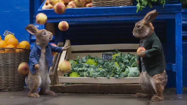 【比得兔2:逃跑计划】比得兔进城谋生搞大事