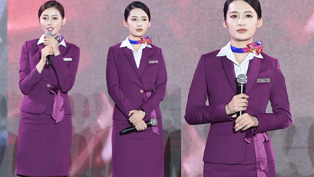 《中国机长》重庆举办首映礼 张天爱李沁空姐制服比美