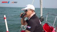 中国帆船公开赛·裁判长宣布本次帆船赛圆满结束