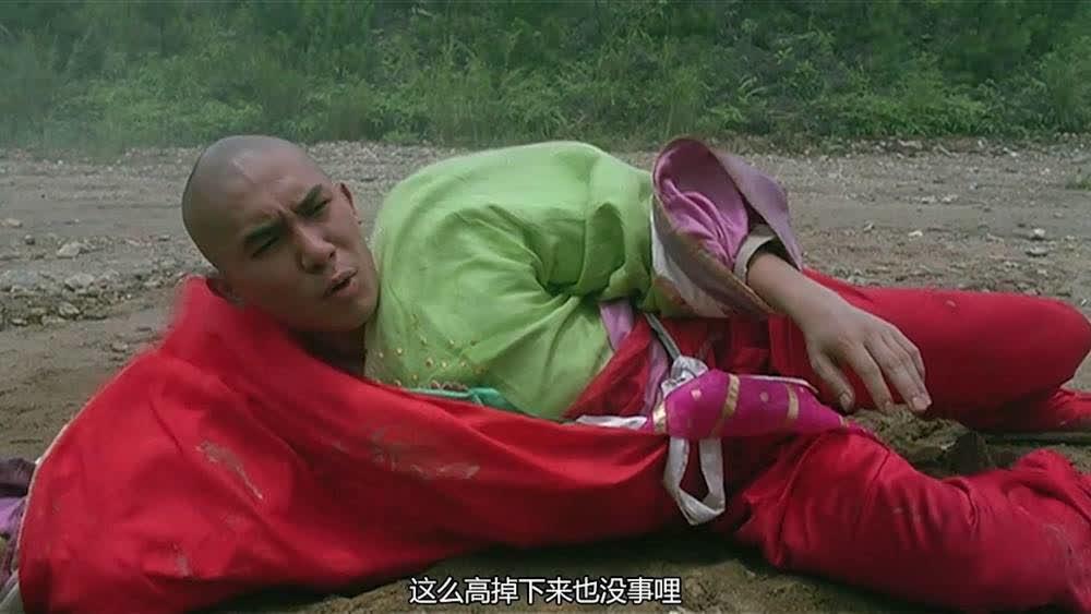 梁朝伟从天上掉下来,张学友接住他被砸进土里,太搞笑了