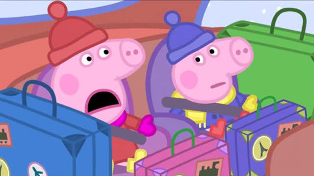 光棍影院小猪佩奇和乔治坐车旅行