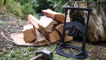 小女孩发明劈柴神器,比传统斧头安全又高效,获发明大奖