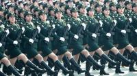 【温暖】女兵方队