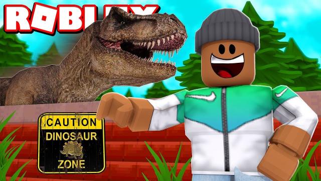 小格解说 Roblox 恐龙大亨:穿越侏罗纪世界!