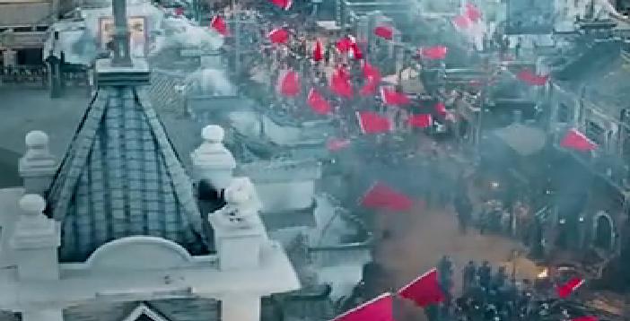 【建军大业】飘舞着的红旗代表着胜利