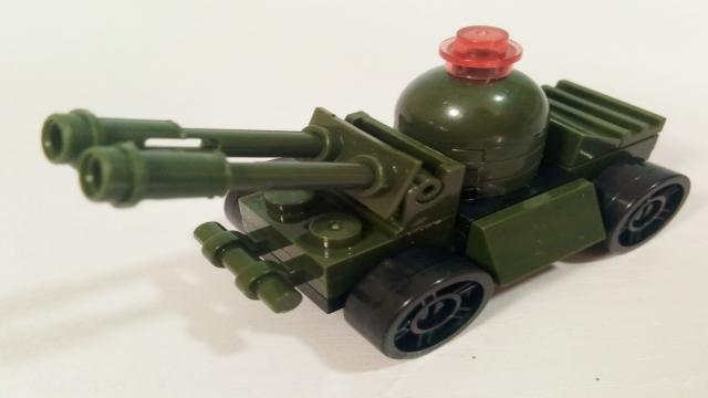 积木玩具乐园 军事战队之装甲车 亲子玩具视频