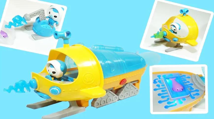 海底小纵队潜水艇章鱼堡玩具套装