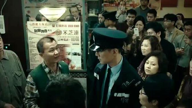 《魔警》:吴彦祖被男子污蔑,恼羞成怒竟想动手打人