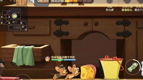 【强强哥】猫和老鼠 老鼠四兄弟和汤姆的日常游戏