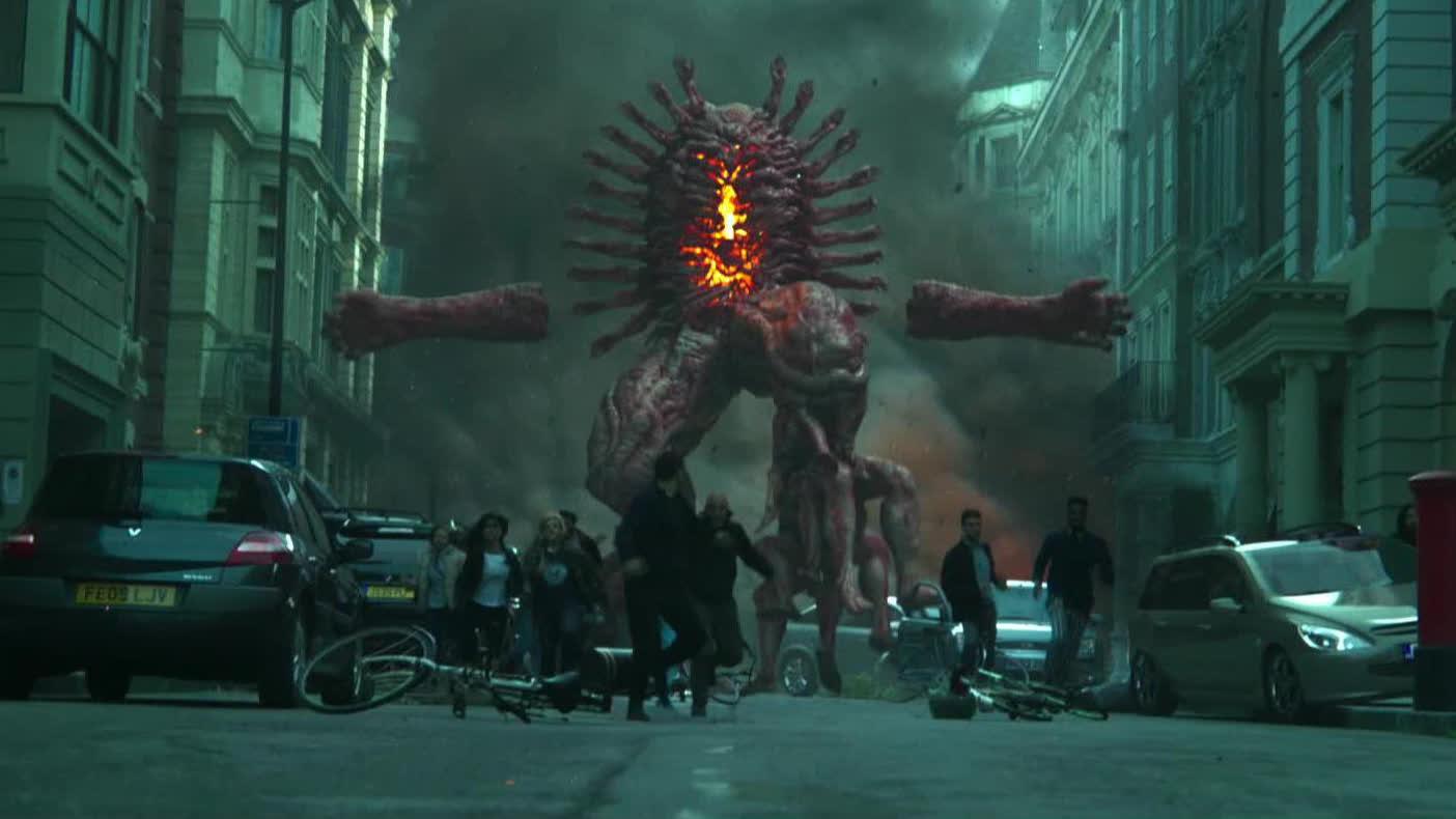 【地狱男爵】地狱巨怪冲出地表占领伦敦