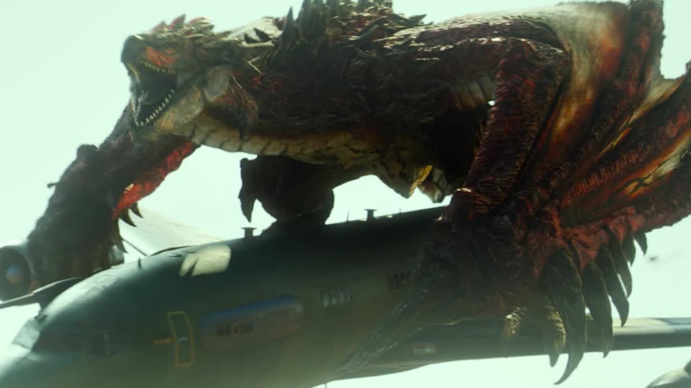 【怪物猎人】导演展示电影特效设计