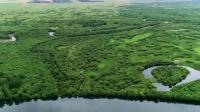壮美!航拍额尔古纳湿地景区 俯瞰如画江山