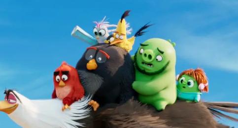 """【愤怒的小鸟2】""""猪鸟大计""""爆笑冒险"""