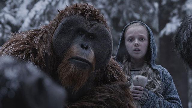 【猩球崛起3】新预告揭秘新角色  可爱女孩点燃凯撒人性之火