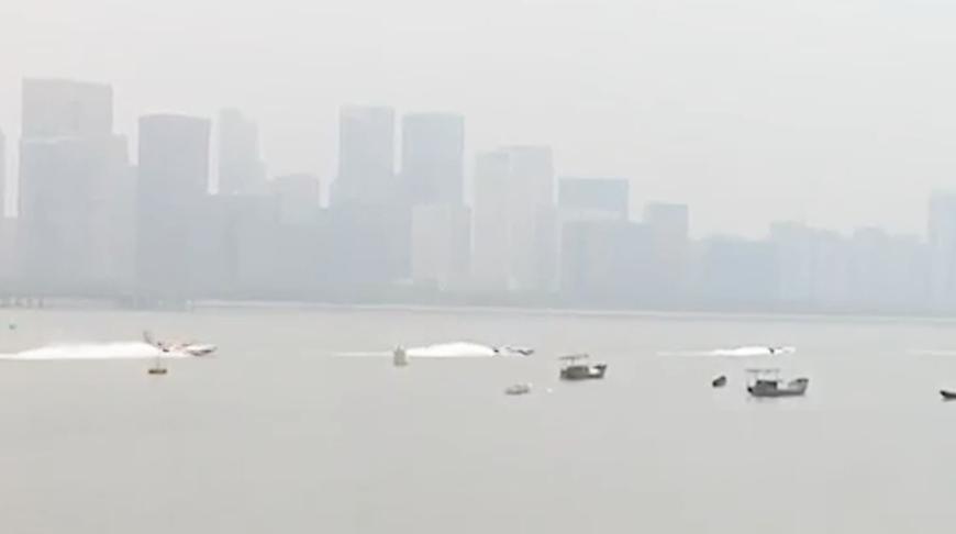 摩托艇的速度与激情 钱塘江水域最高规格的国际水上赛事来了!