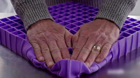 """美国发明""""无压力床垫"""",躺上去鸡蛋都不会碎,家里的床垫可以扔了"""