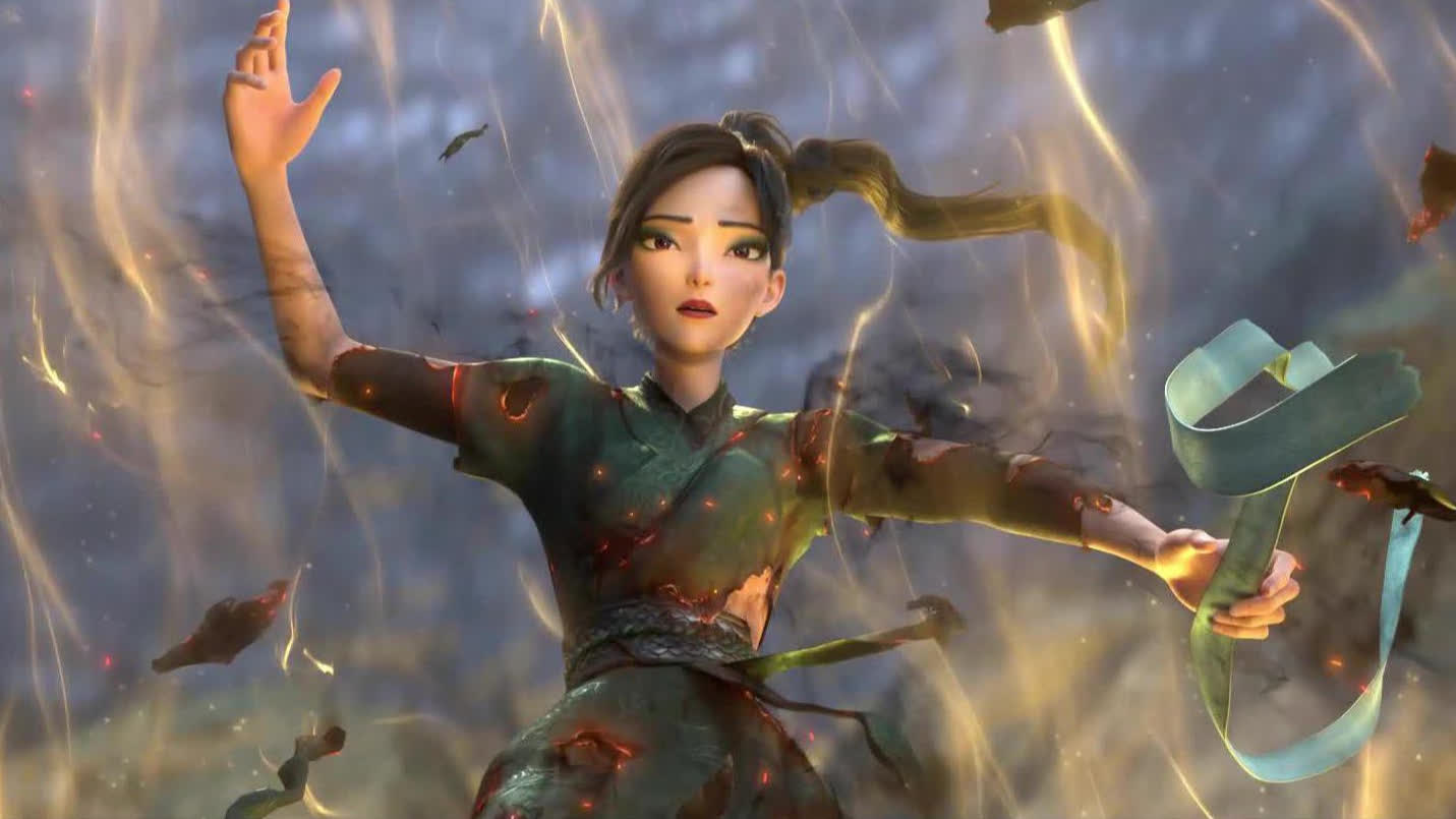 """【白蛇2:青蛇劫起】""""小青""""邀观众来IMAX看震撼视效"""